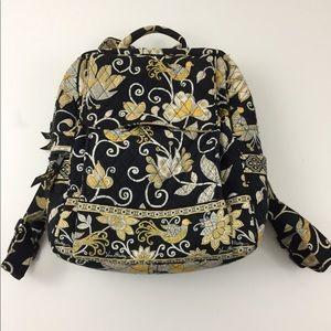 Vera Bradley Retired Yellow Bird Backpack